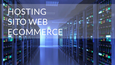 Hosting su Server Dedicati - Siti ecommerce
