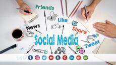 Grafica e Apertura pagine Social Network