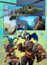Creerò un'incredibile pagina a fumetti storyboard