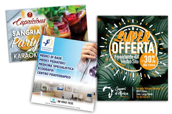 Flyer / Brochure Personalizzati