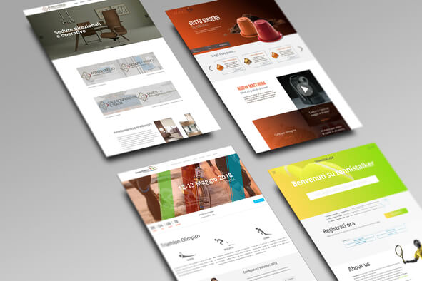 Sito Web Desktop + Responsive + 4 email + SEO