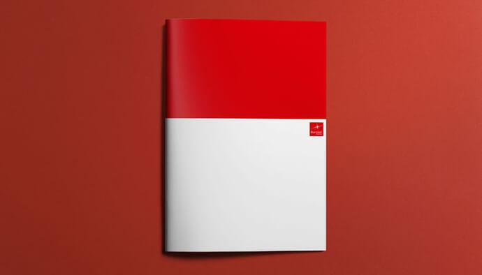 Brochure professionale di alta qualità grafica
