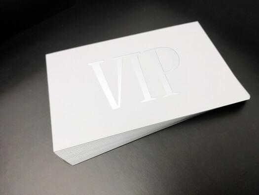 Biglietti da visita. Design leggero e originale