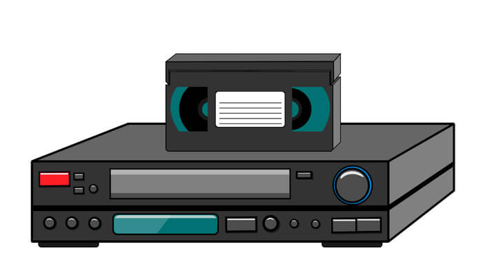 Riversiamo le vostre videocassette in Mp4