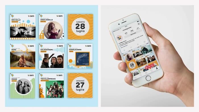 Creatività e Contenuti Grafici per Social Media